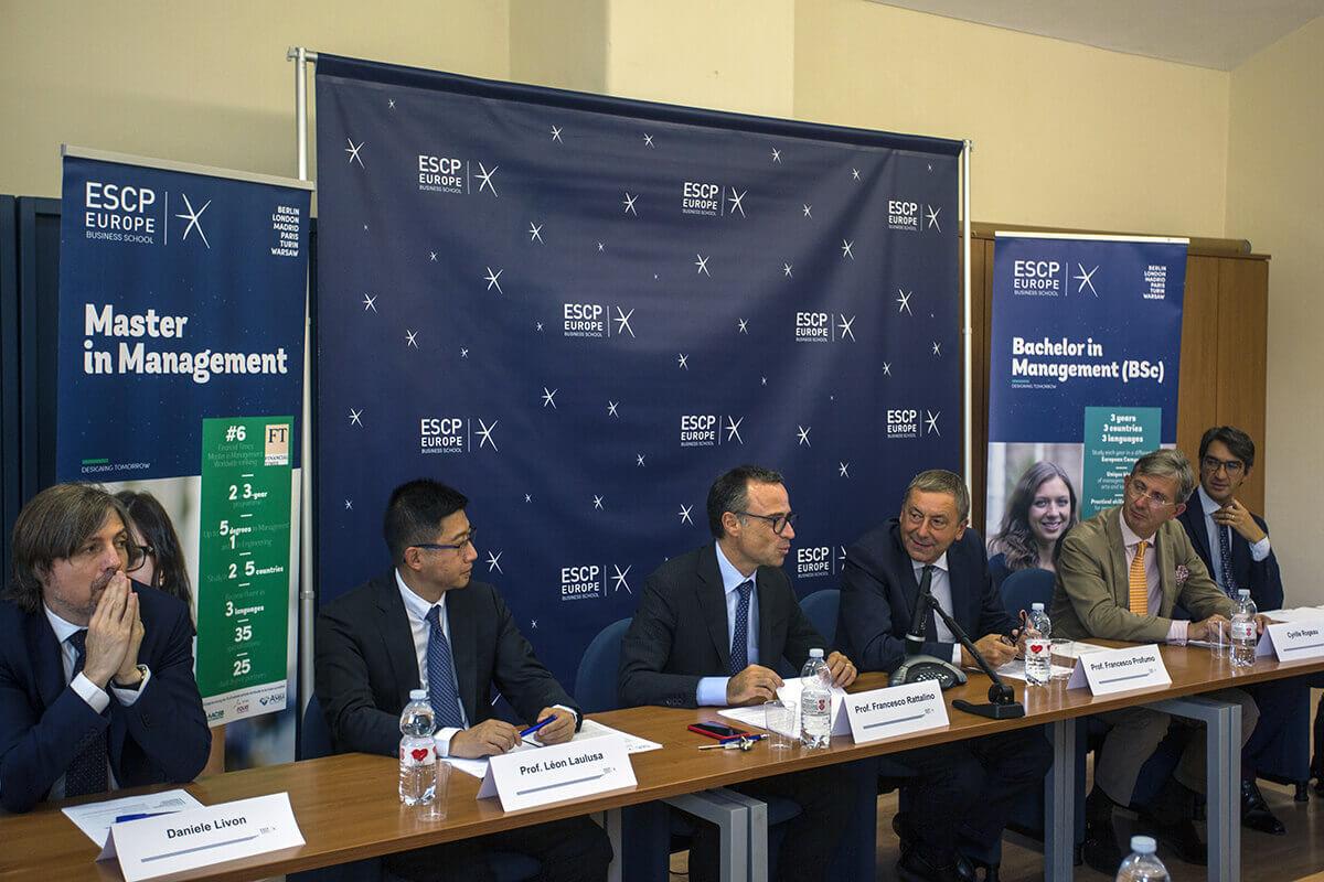 ESCP Torino Conferenza stampa settembre 2018