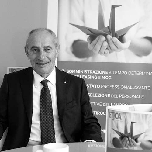 Guido Crivellin Presidente di Etjca Agenzia per il lavoro