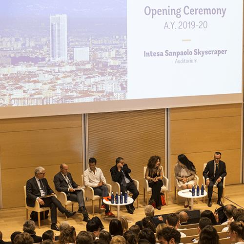 Cerimonia d'apertura corsi ESCP Euorope