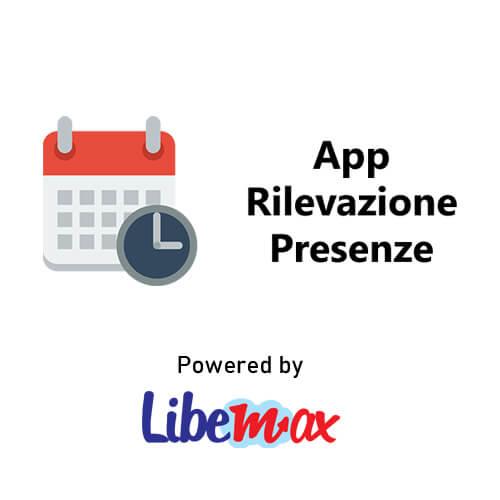 App rilevazione presenze Libemax